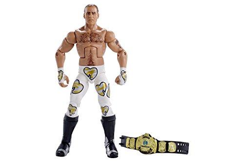 WWE Wrestlemania Elite Shawn Michaels Wrestlemania 12 Action Figure (Toy Wwe Shawn Michaels)