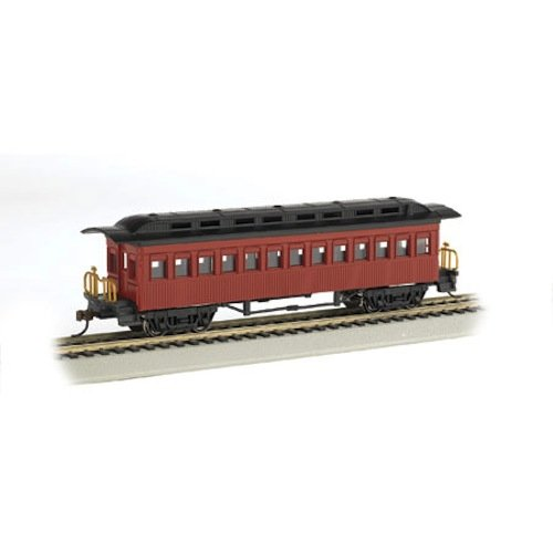 Bachmann Hobby Train Passenger Car, Prototypical Red
