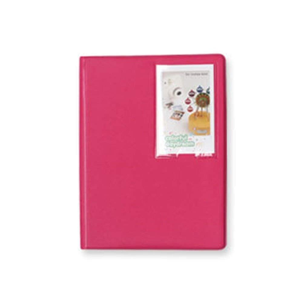 Mini Polaroid Photo Album Instant Fujifilm Instax Camera Album Large (Rose Pink) 2NUL