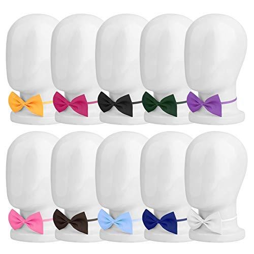 New Boys Girl Bambini Farfalla cravatta stile britannico Solid Bowtie Pre cravatta Legato bambini Festa di nozze in raso Papillon Vintage Hot Giallo