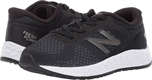 - New Balance Boys' Arishi V2 Bungee Running Shoe, Black/White, 10 W US Toddler
