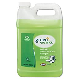 Green Works CLO 30388 38-Ounce Natural Common Solutions Pot And Pan Dishwashing Liquid Bottle (Case of 4)