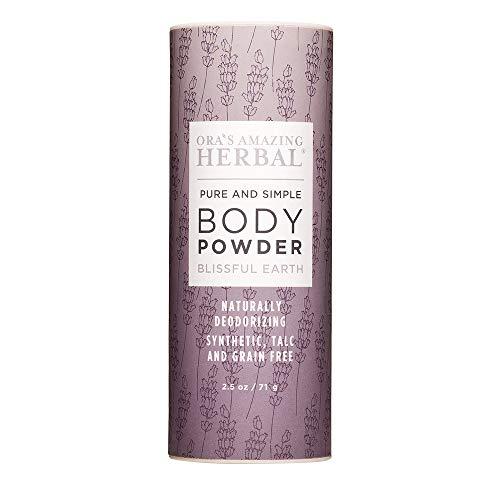 Body Powder, Dusting Powder, Natural Deodorant Powder, Natural Body Powder, Talc Free Powder, Foot Powder, No Corn, Gluten, Non-GMO, Ora