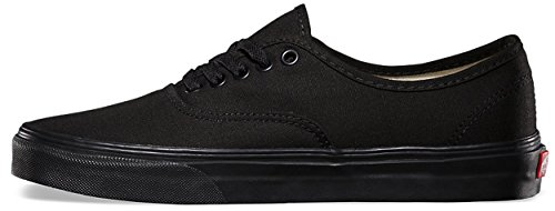 Vans Trainers Authentic Unisex Scarpe Nero Canvas Skate HSHqr0g