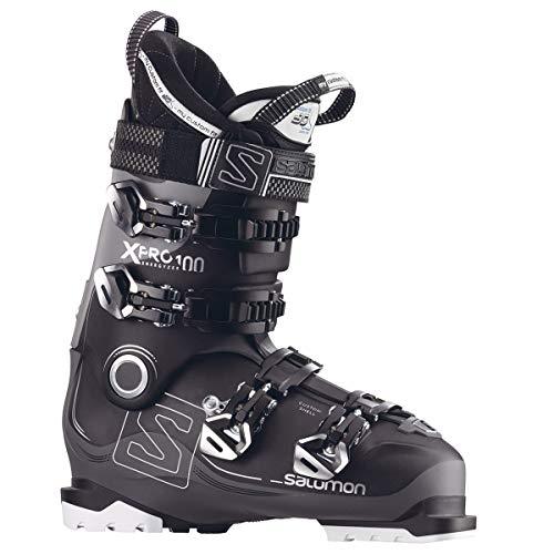 Pro 100 Ski Boot - Salomon X-Pro 100 Ski Boots 2018 - 26.5/Black-Anthracite-Light Grey