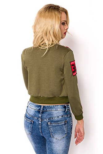Giacca K Verde Donna Lubberger t A h 4 Z87wWXqB