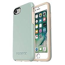 Otterbox Symmetry - Funda Anti Caídas Fina y Elegante para iPhone SE 2020/8/7 Muted Waters (Verde Agua) Edición Limitada