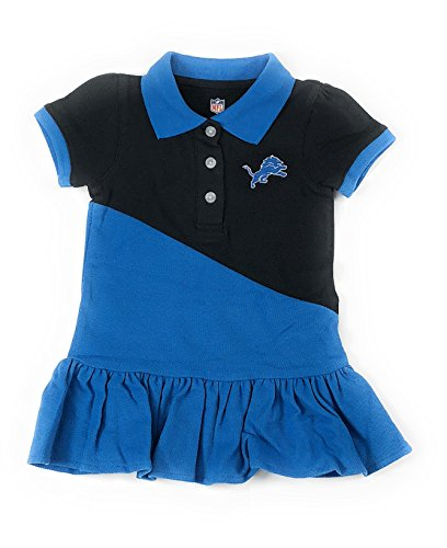 Outerstuff Detroit Lions Football Girls Polo Dress Clothing Apparel 744b2bc56