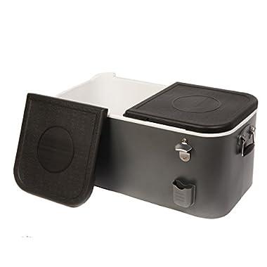 HIO 60 Qt. Outdoor Patio Cooler Box, Grey