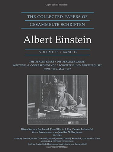 The Collected Papers of Albert Einstein, Volume – The Berlin Years: Writings & Correspondence, June 1925–May 1927