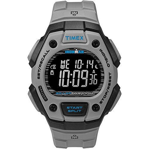 Timex Ironman Classic 30 41mm Full-Size Resin Strap Watch - Bla. [TW5M24300JV]