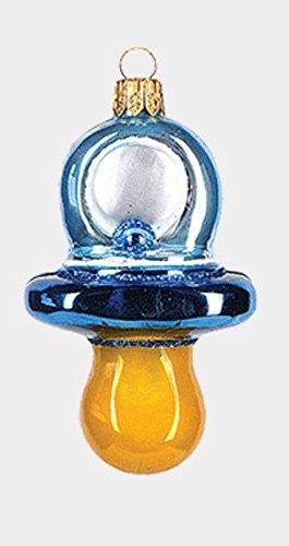 Pinnacle Systems Baby Boy azul Chupete polaco adorno de Navidad de ...
