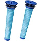 Anewise 2 Pack Washable Pre Motor Filter for Dyson DC58 DC59 V6 Cordless Vacuum Cleaners ,2 Filters Replacements Part # 965661-01