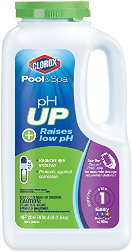 Clorox Pool&Spa pH Up, 4-Pound 19004CLX (Chemicals Pool Spa)