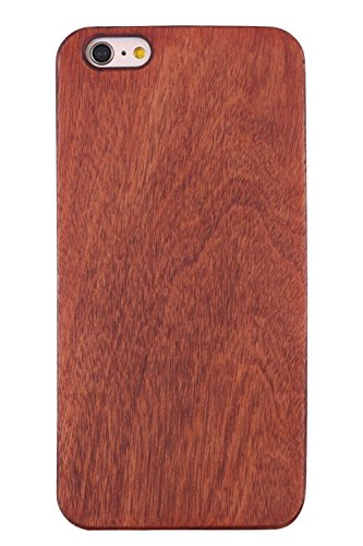 Wooden iPhone 5 5s Case,Real Wood Premium Protective Snap On Cover,Unique, Classy and Stylish Cherry Bamboo Accessory for Apple iPhone 5 and iPhone 5s Cell Phone Hard Case(red) (Wood Tree Iphone 5 Case)