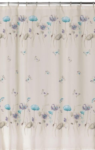 Creative Bath Products Inc. S1072LIL Garden Gate Shower Curtain, Purple from Creative Bath