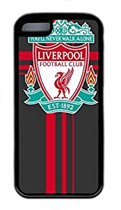 iPhone 5C Case, iPhone 5C Cases - Black Soft Rubber Shock-Absorption Bumper Case for iPhone 5C Liverpool Fc Logo Desktop1 Water Resistant Back Case for iPhone 5C hjbrhga1544