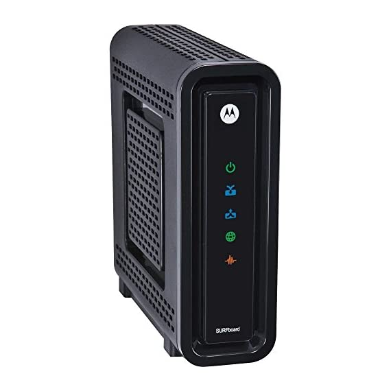Arris/Motorola SB6121 DOCSIS 3.0 Cable Modem in Non-Retail Packaging (Brown Box) 3 DOCSIS 3.0 certified, capable of up to 172 Mbps and upload speeds up to 131 Mbps based on Cable Internet Service Provider Supports IPv4 and IPv6 networking, as well as Windows, Mac, and Linux computers 10/100/1000Mbps Ethernet port to connect with router or computer
