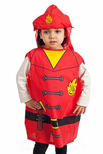 6 pcs dress up Costumes 1 Fireman 2 Gotham 3 Cook 4 Nurse 5 Clown 6 Witch
