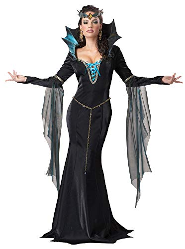ESSA OAT clothes series Evil Sorceress Queen Witch Gothic Adult Costume