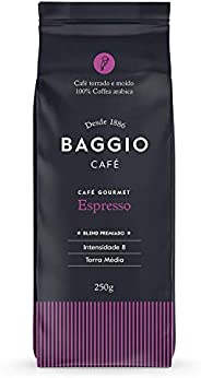 Café Torrado e Moído Gourmet Espresso Baggio Café 250g