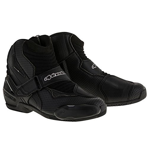 (Alpinestars SMX-1 R Vented Boots - 9.5 US / 44 Euro/Black)