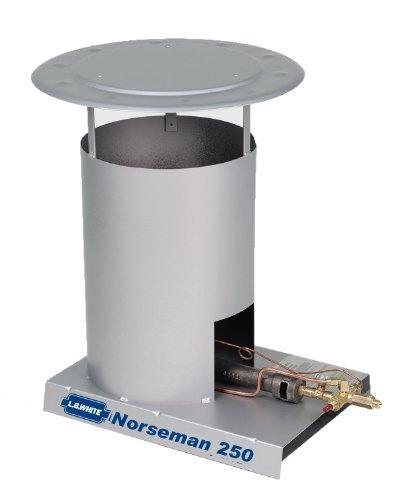 L.B. White 341 Norseman 250 Portable Heavy Duty Convection Propane Construction Heater, 250,000 (250 Propane)