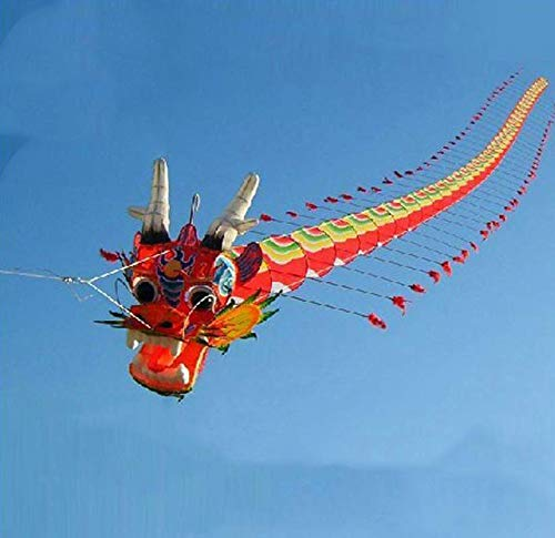 Free Shipping High Quality 7M Chinses Traditional Dragon Kite Chinese Kite Design Decoration Kite Kite Factory Toys