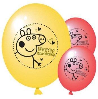 Peppa Pig ballons parti (pack de 10)