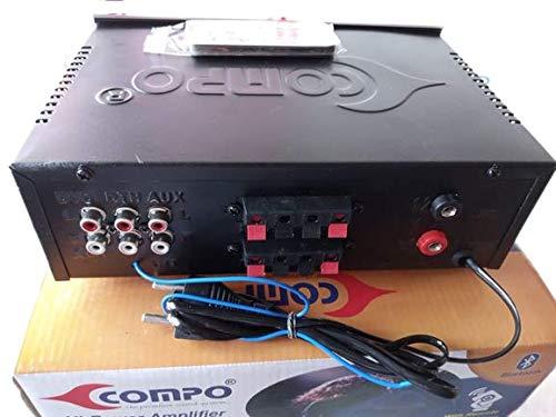 Compo Hi-Power Amplifire AC/DC FM Radio Multimedia with Bluetooth, USB, SD Card, Aux