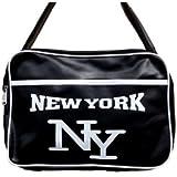 Sac Besace Messenger - New York - 3105 - Blanc