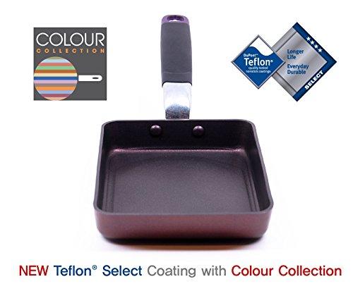 TeChef - Tamagoyaki Japanese Omelette Pan/Egg Pan, Coated with Dupont Teflon Select - Colour Collection/Non-stick Coating (PFOA Free) by TECHEF (Image #1)