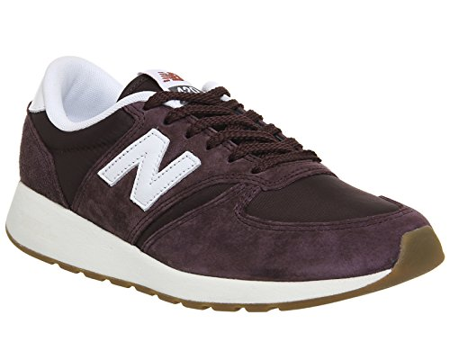 New Balance Herren Buty 420 RE-Engineered Suede Zehenkappen burgundy-white (MRL420SS)