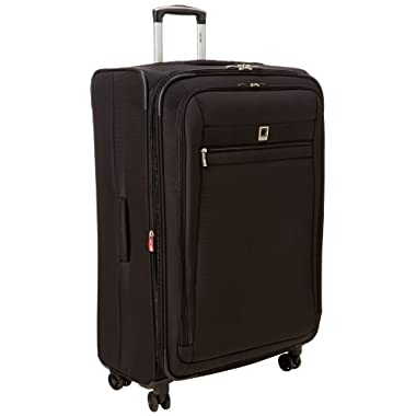 Delsey Luggage Helium Hyperlite 29 Inch Expandable Spinner Trolley, Black, One Size