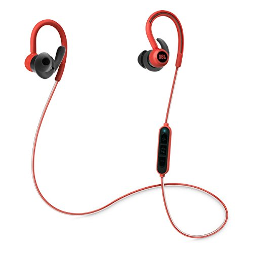 JBL Reflect Contour Bluetooth Wireless Sports Headphones Red