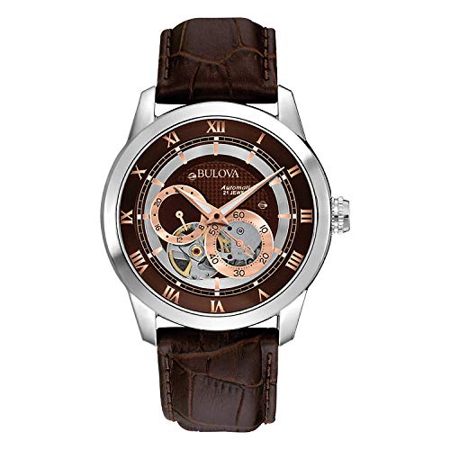 Bulova Men's 96A120 BVA Series Dual Aperture Dial Watch ()
