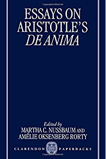 com essays on aristotle s ethics philosophical traditions essays on aristotle s de anima clarendon aristotle