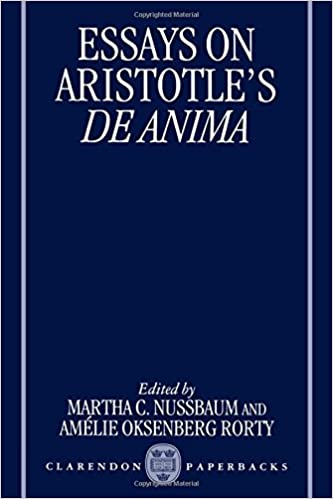 Science Topics For Essays Amazoncom Essays On Aristotles De Anima Clarendon Aristotle Series   Martha C Nussbaum Amlie Oksenberg Rorty Books Book Review Writing Service also Essay For Health Amazoncom Essays On Aristotles De Anima Clarendon Aristotle  Doing My Assignment Doing My Assignment