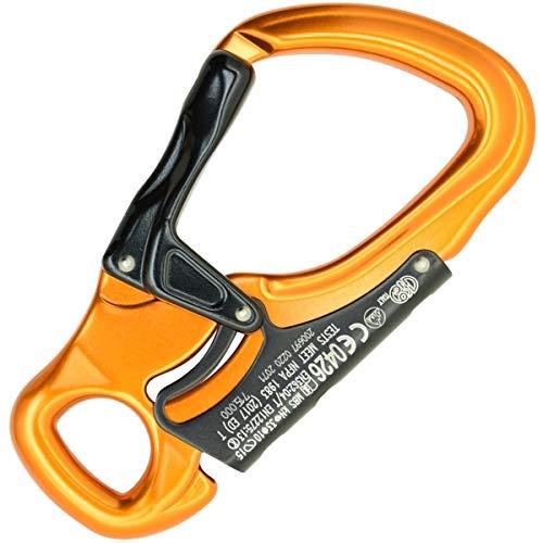 KONG Tango Wide Opening Carabiner Orange/Black