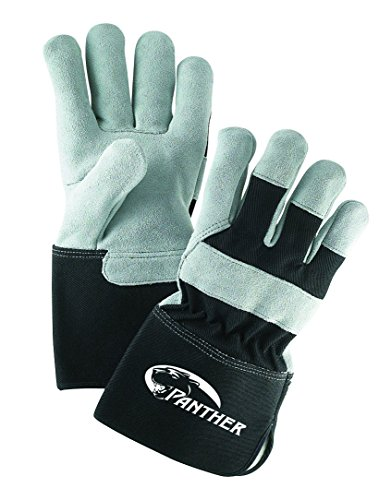 Galeton 2135-L Panther Select Leather Palm Gloves, Gauntlet Cuff (4.5