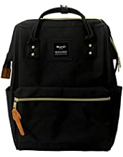 Himawari Polyester Laptop Daypack Vintage School Bag Fits 13-inch Laptop