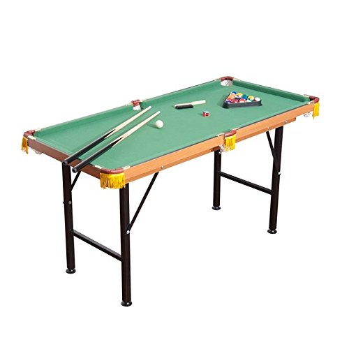 Foldable Miniature Pool Table Set Outdoor/Indoor Activity Game Table With Ebook by MRT SUPPLY