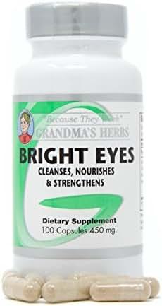 Bright Eyes All-Natural Vision Enhancer, Ocular Vision Supplements, 100 Capsules (1)