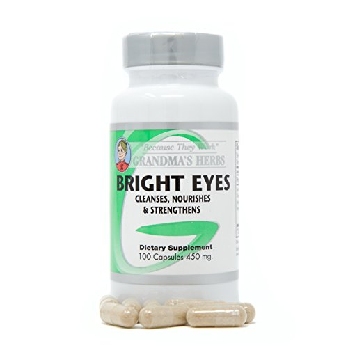 Bright Eyes - All Natural Vision Enhancer - 100 Capsules (1) All Natural Herb