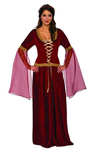 Pizazz! Women's Damsel, red/Gold, Medium ()