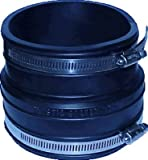 Fernco P1060-22 2-Inch by 2-Inch Rubber Flexible Socket Coupling Repair Fitting