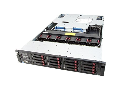 HP ProLiant DL380 G7 2x Six Core X5680 3.33GHz 72GB P410i 8X146GB 16 bay chassis ()