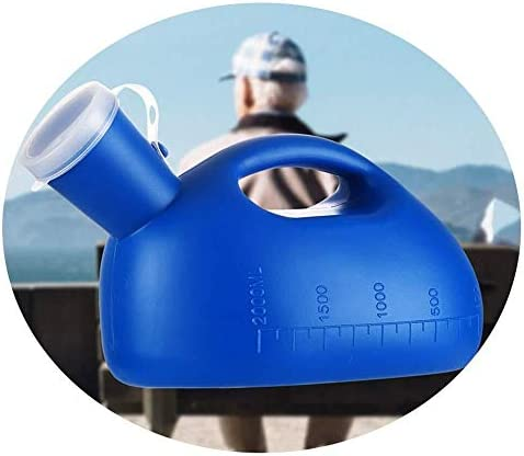 便器 便器2000ミリリットル大容量男性便器Ppの材質に適した高齢者の子供病院のドライバを使用する消臭用と ユニセックス便器