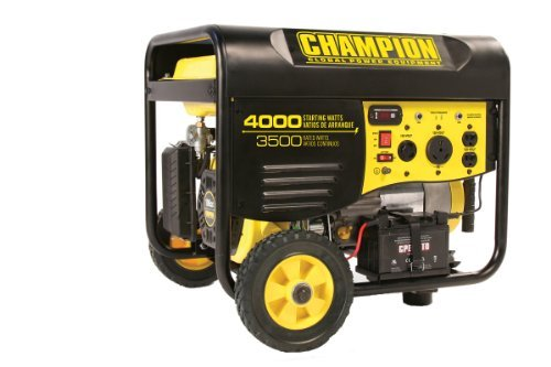 Champion Power Equipment Model 46565 3,500-4,000 Watt Remote Start Portable Gas-Powered Generator (Not For Sale in California)