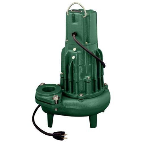 Waste Mate Submersible Pump - Zoeller 282-0002 115-Volt 1/2 Horse Power Model N282 Waste-Mate Non-Automatic Cast Iron Single Phase Submersible Sewage/Effluent Pump